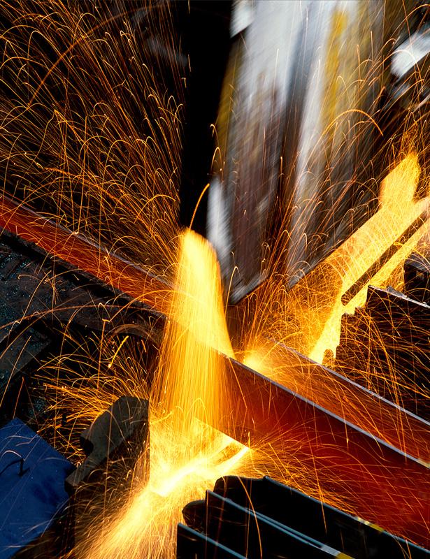řezaní oceli