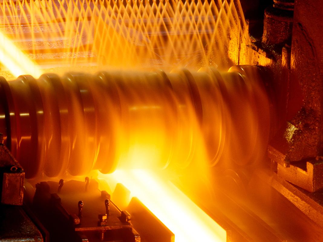 žhavá ocel